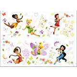 Wandsticker Disney Fairies Pixies& Posies, Glitzer