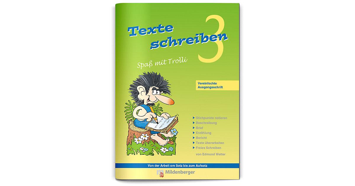 Buch - Texte schreiben, Spaß mit Trolli, Ausgabe Bayern: 3. Schuljahr
