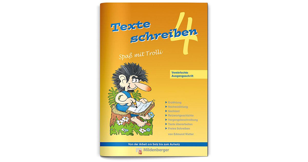 Buch - Texte schreiben, Spaß mit Trolli, Ausgabe Bayern: 4. Schuljahr