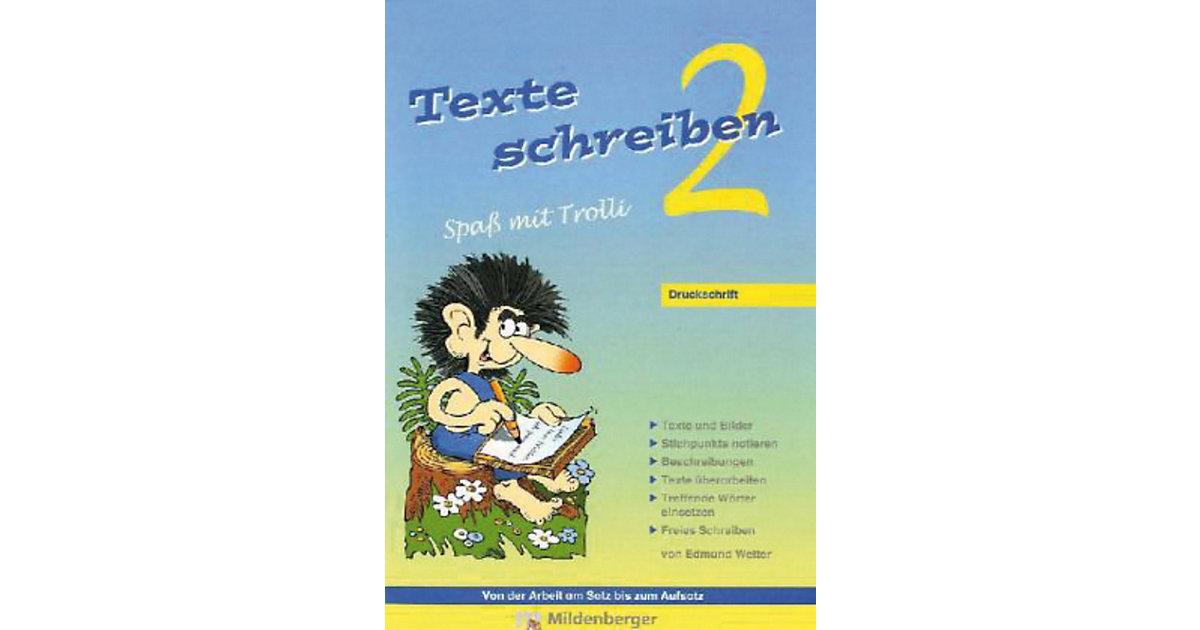Buch - Texte schreiben, Spaß mit Trolli: 2. Schuljahr