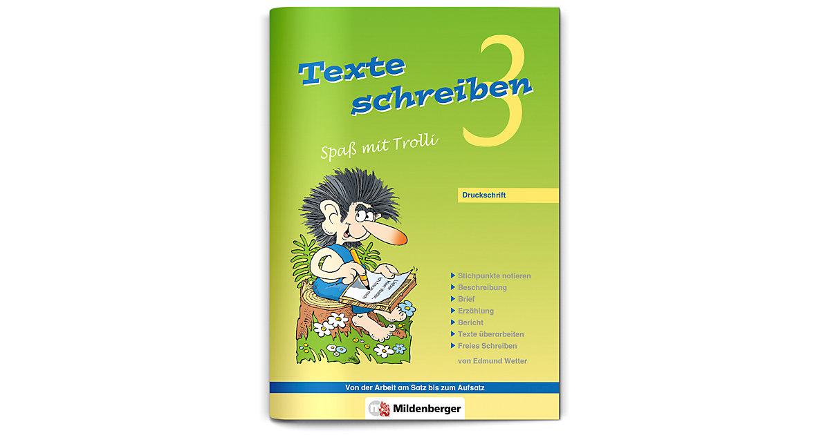 Buch - Texte schreiben, Spaß mit Trolli: 3. Schuljahr