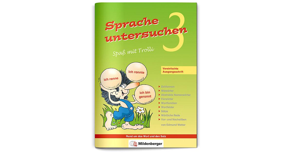 Buch - Sprache untersuchen, Spaß mit Trolli, Ausgabe Bayern: 3. Schuljahr