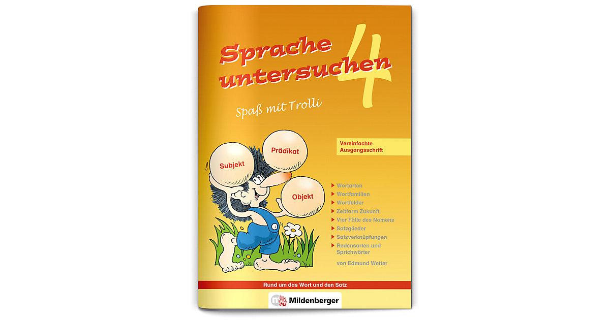 Buch - Sprache untersuchen, Spaß mit Trolli, Ausgabe Bayern: 4. Schuljahr