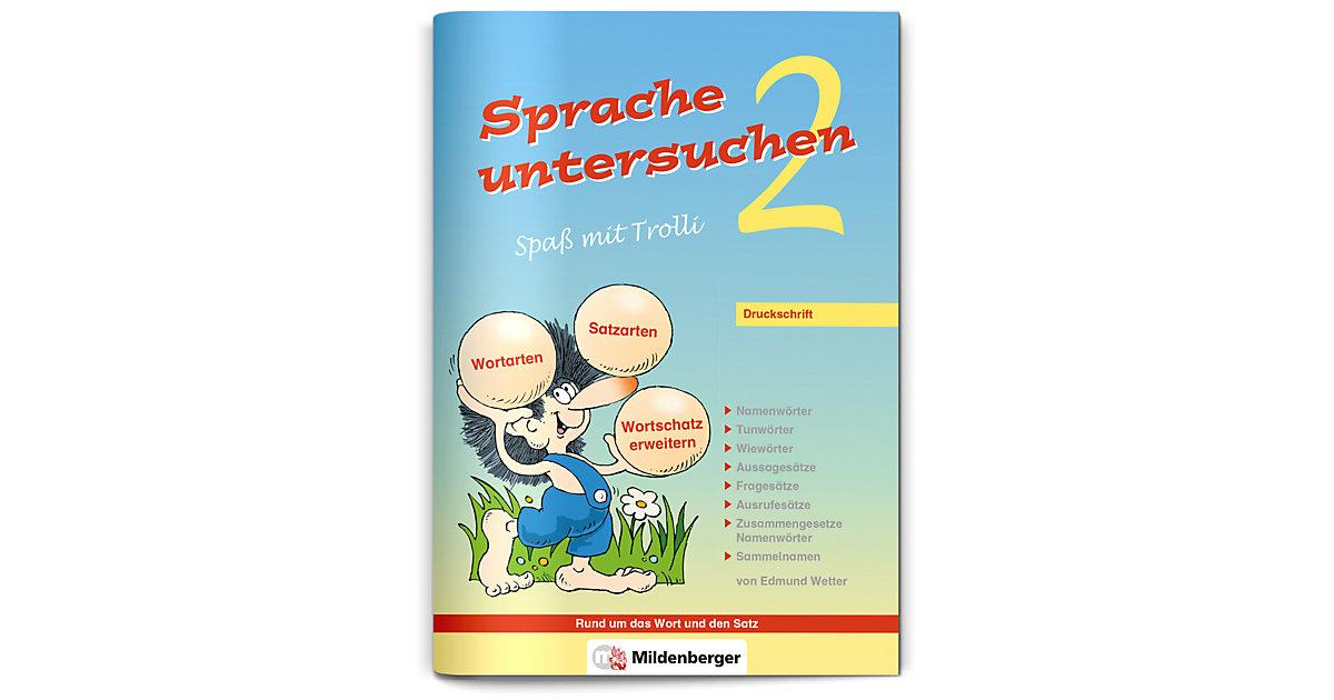Buch - Sprache untersuchen, Spaß mit Trolli: 2. Schuljahr
