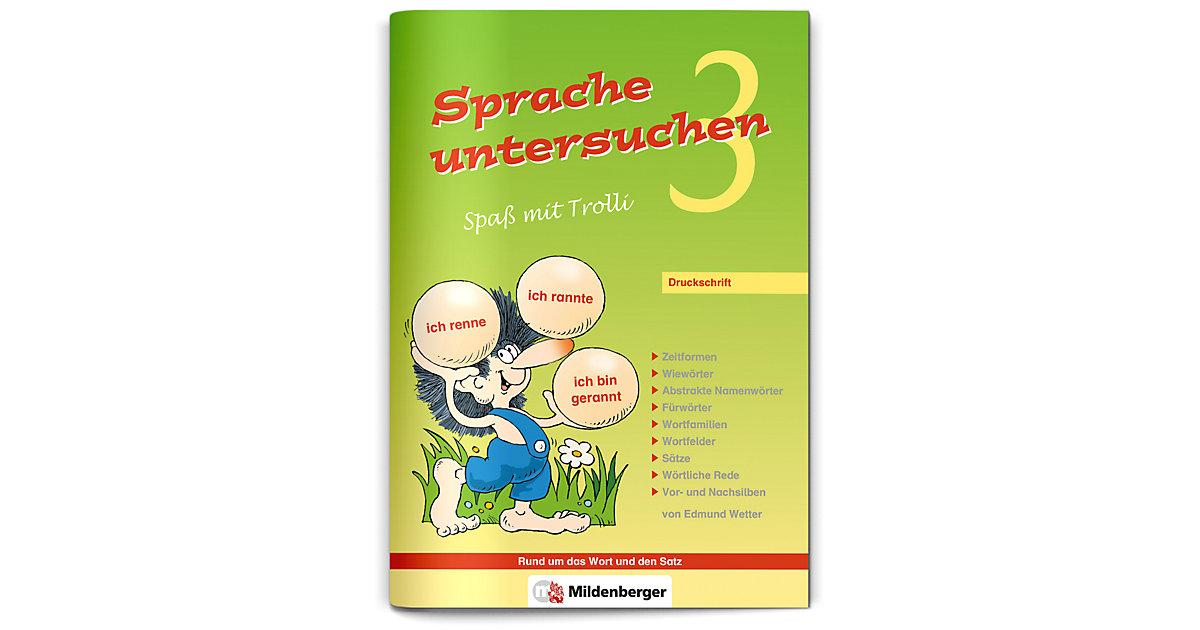 Buch - Sprache untersuchen, Spaß mit Trolli: 3. Schuljahr