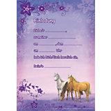 Einladungs-Set A5, Traumpferdchen Blütenzauber 24tlg.