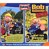 CD Bob der Baumeister 1 - Bob 2er CDs Schuber