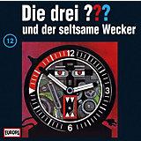 CD Die Drei ??? 012/und der seltsame Wecker