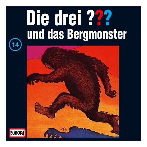 CD Die Drei ??? 014/und das Bergmonster, Die drei Fragezeichen | myToys