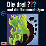CD Die Drei ??? 020/und die flammende Spur