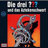 CD Die Drei ??? 023/und das Aztekenschwert