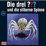 CD Die Drei ??? 024/und die silberne Spinne