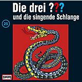 CD Die Drei ??? 025/und die singende Schlange