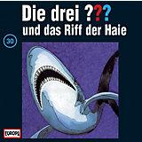 CD Die Drei ??? 030/und das Riff der Haie