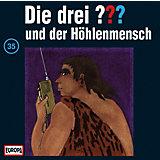 CD Die Drei ??? 035/und der Höhlenmensch
