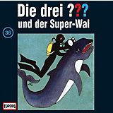 CD Die Drei ??? 036/und der Super-Wal