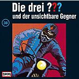 CD Die Drei ??? 038/und der unsichtbare Gegner