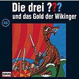 CD Die Drei ??? 045/und das Gold der Wikinger