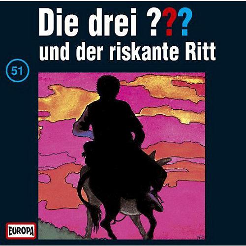 CD Die Drei ??? 051/und der riskante Ritt Hörbuch