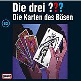 CD Die Drei ??? 082 - Die Karten des Bösen