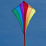 Drachen Line Eddy Rainbow  70cm