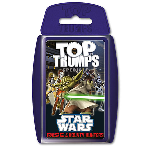 Top Trumps - Star Wars Rise of the Bounty Hunters