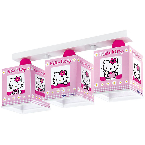 Deckenlampe Hello Kitty, pink