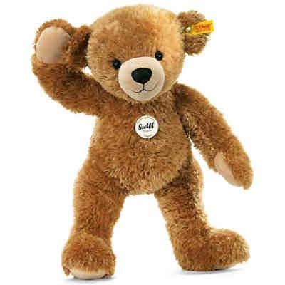 steiff happy teddyb r hellbraun 28 cm steiff mytoys. Black Bedroom Furniture Sets. Home Design Ideas