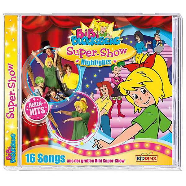 CD Bibi Blocksberg SuperShow CD Soundtrack