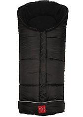 Iglu- Fußsack Fleece, schwarz
