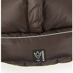 Winter Footmuff Dowwny - brown