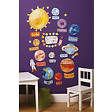 Wall Stickers Solar System, 45 Pieces