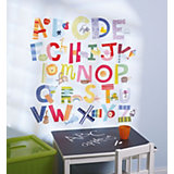 Wall Stickers, Alphabet Fun, 52 Pieces