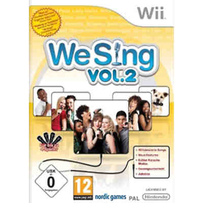 Wii We Sing Vol.2 (Standalone)