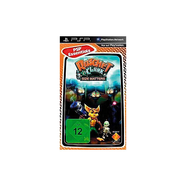 PSP Ratchet & Clank: Size Matters - Essentials