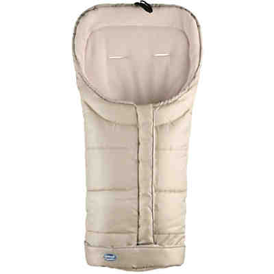 Techno-Fleece Fußsack, beige