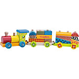 Color Wooden Train