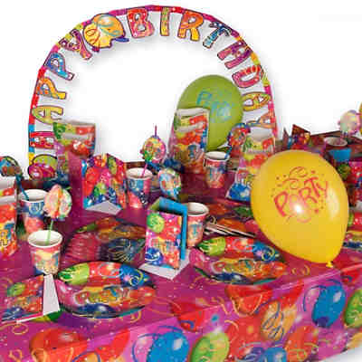 Partyset Ballon Party 66-tlg.