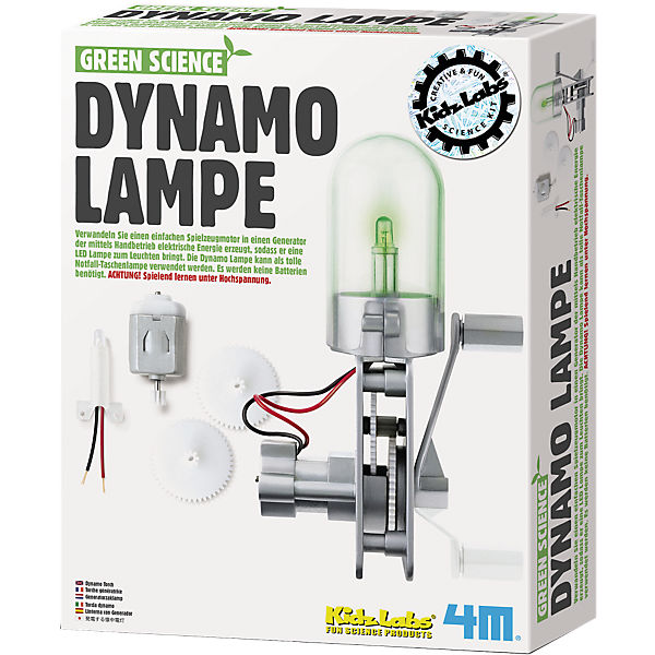 Green Science Bausatz Dynamolampe
