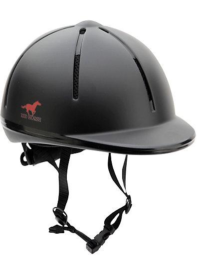 RED HORSE Kinder Sicherheitsreithelm RIDER, schwarz