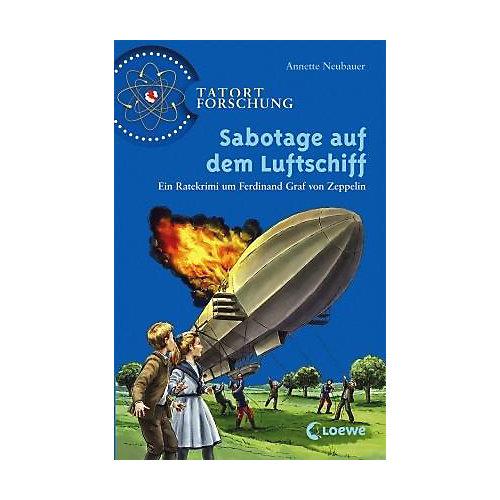 Buch - Tatort Forschung: Sabotage auf dem Luftschiff