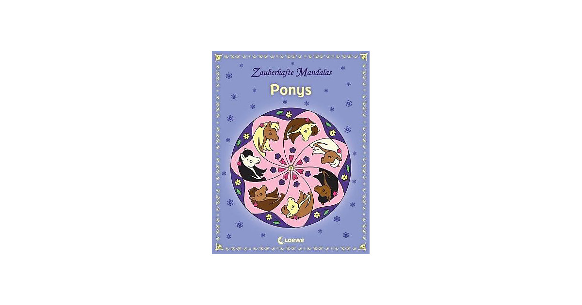 Buch - Zauberhafte Mandalas: Ponys