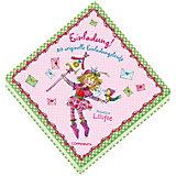 Prinzessin Lillifee - Einladung!, 20 originelle Einladungsbriefe