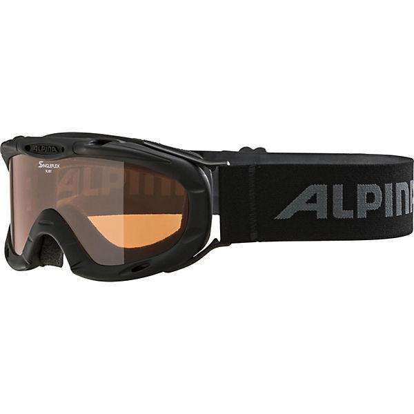 Маска Ruby S, Alpina, черная