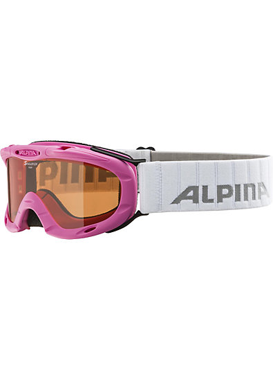 ALPINA Skibrille Ruby S, pink