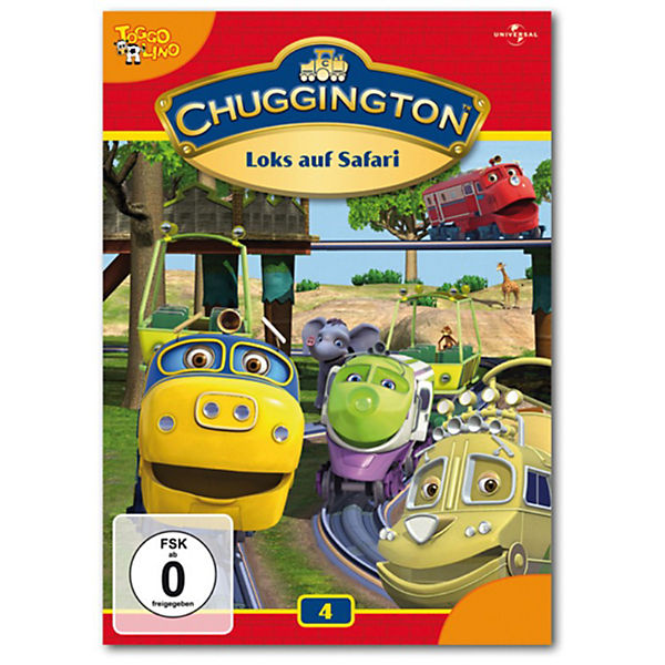 DVD Chuggington 04 - Loks auf Safari