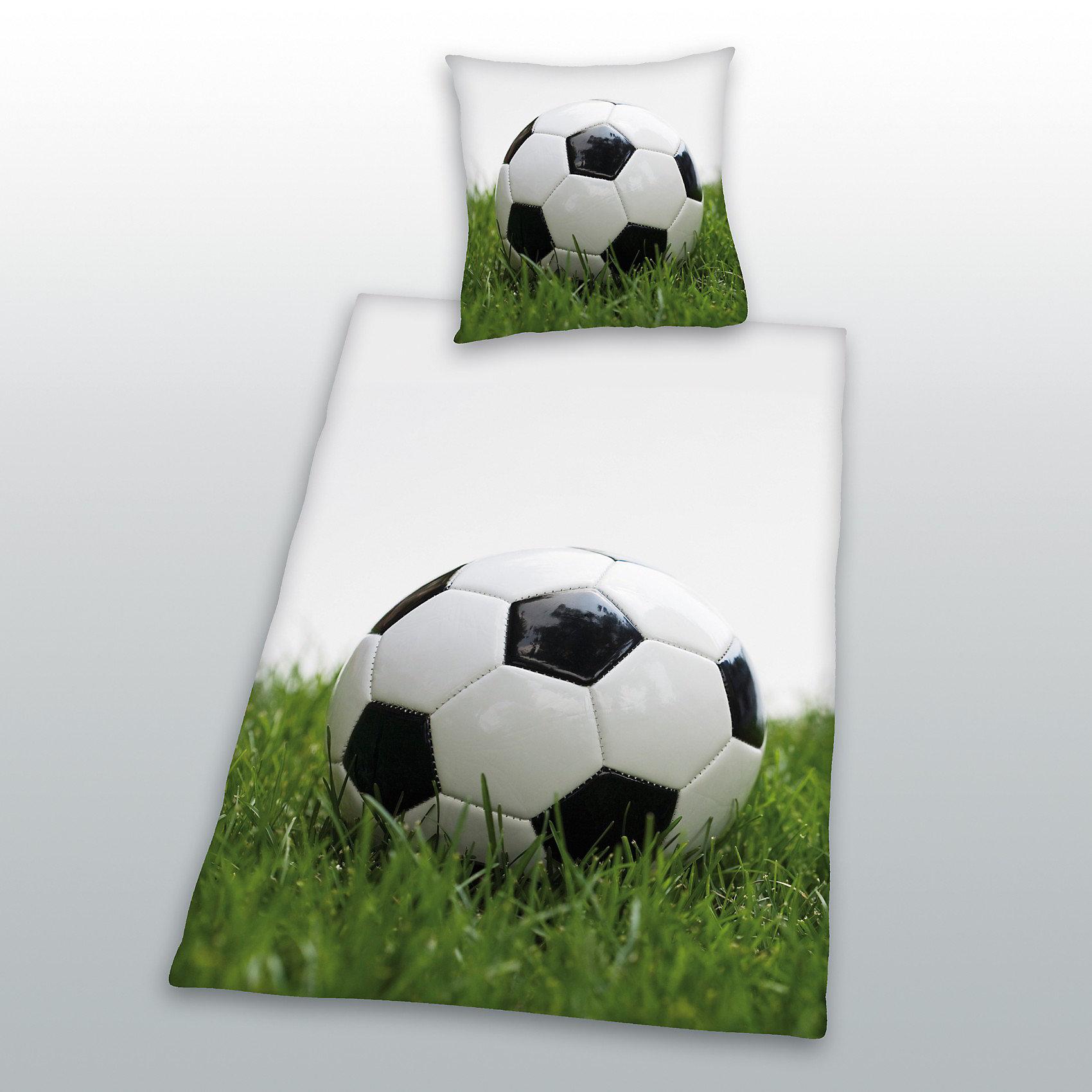 kinderbettwaesche fussball biber 135 x 200 cm. Black Bedroom Furniture Sets. Home Design Ideas
