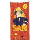 Strandtuch Feuerwehrmann Sam, 75 x 150 cm