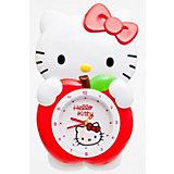"""Часы настенные """"Яблоко с маятником"""", Hello Kitty"""