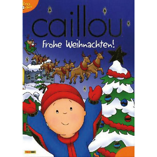 caillou frohe weihnachten caillou mytoys. Black Bedroom Furniture Sets. Home Design Ideas